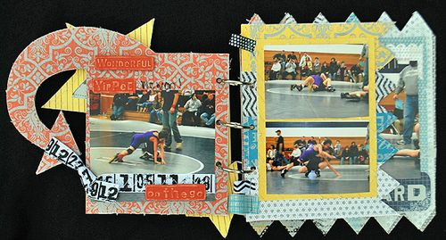 Wrestle page 1a