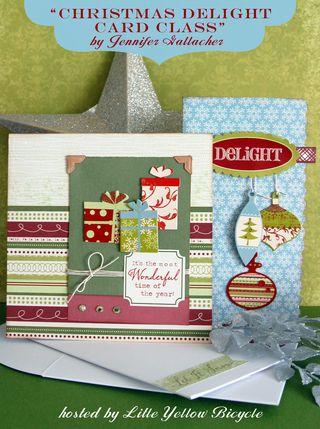 Christmas Delight Card Class