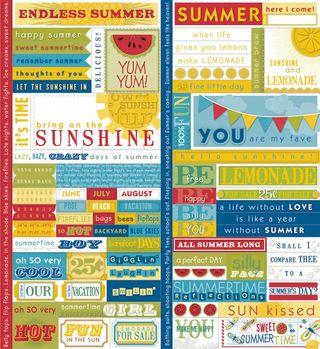 Sweet Summertime Fresh Verse