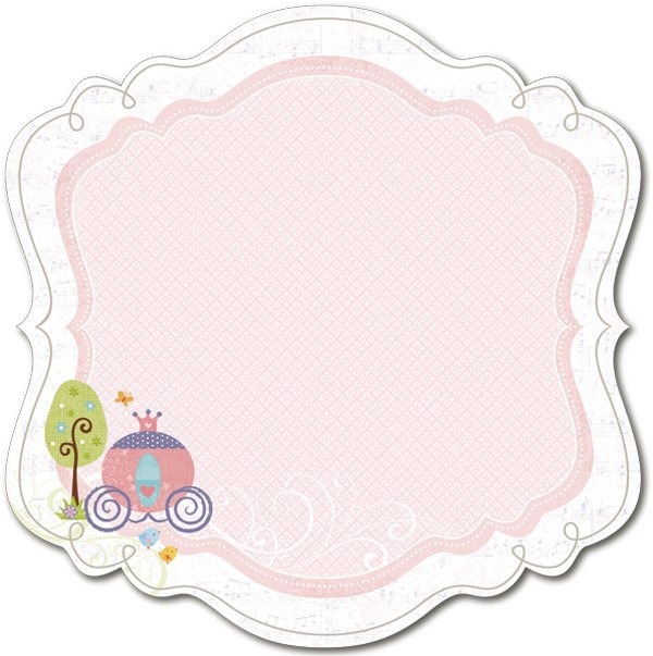 Tiny Princess Decorative Edge Paper