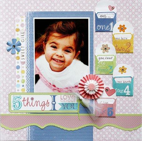 Tiny Princess 5 Things Layout