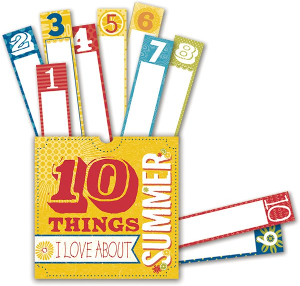 Sweet Summertime Ten Things Pocket
