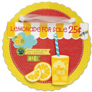 Sweet Summertime Lemonade Banner
