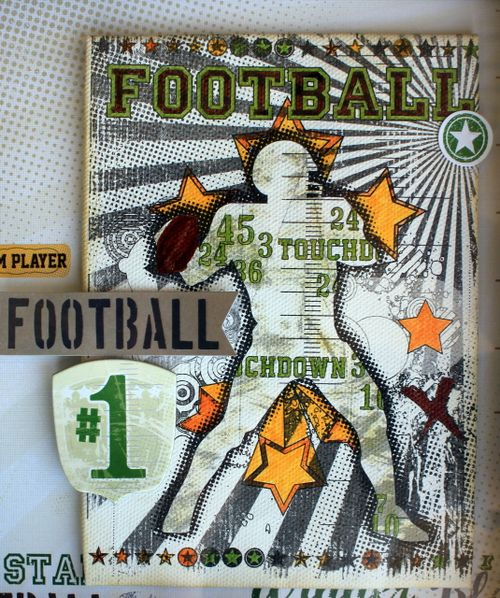 Football Canvas Detail RS