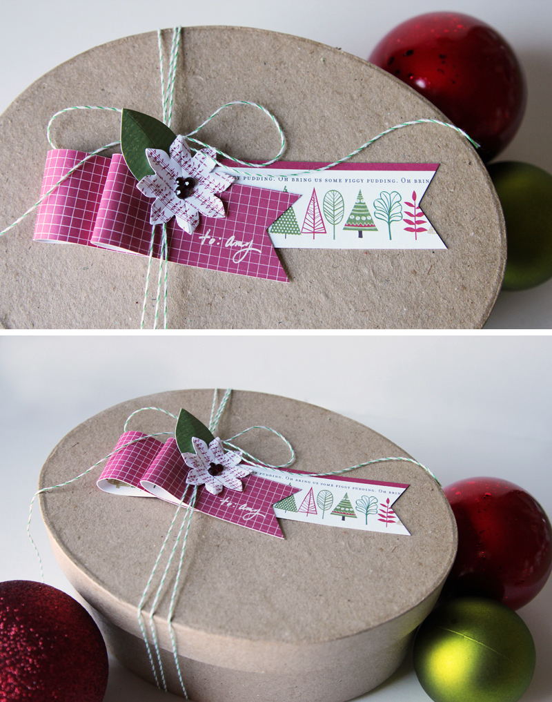 Paper Ribbon Tag CindyT