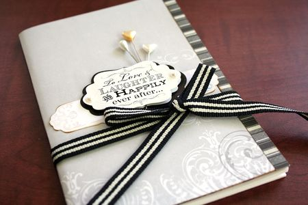 Wedding notebook