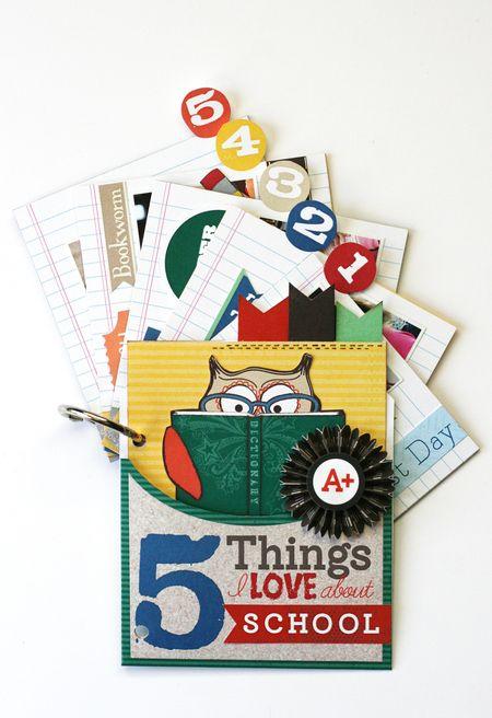 MG Retail class kit mini album 1