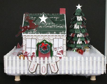 WendyAntenucci_Christmas Village_altered