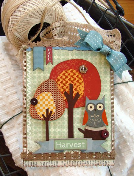 Fall Harvest Wall Hanging